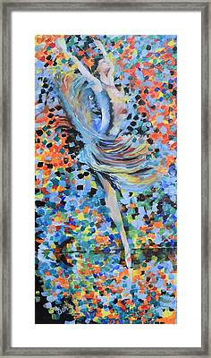 My Ballerina Framed Print