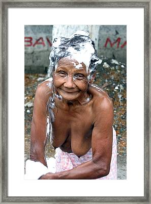 My Bathroom 14 Framed Print by Jez C Self