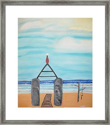 My Beach Framed Print by Edwin Long
