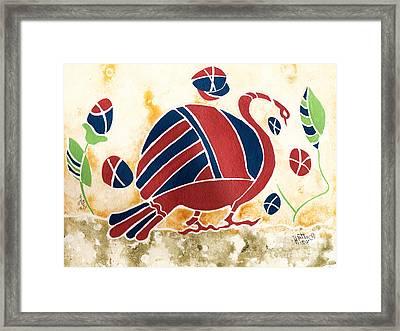 My Big Fat Greek Goose 2 Framed Print
