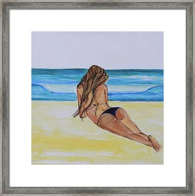 My Bikini Framed Print by Alexandra Talese
