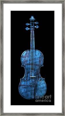 My Blue Violin Framed Print by John Stephens