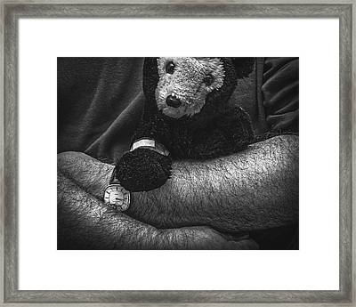 My Boo Boo Framed Print by Jon Woodhams