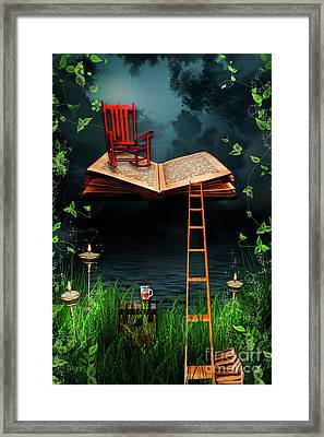 My Book Said Come Fly With Me Framed Print