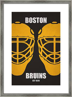 My Boston Bruins Framed Print by Joe Hamilton
