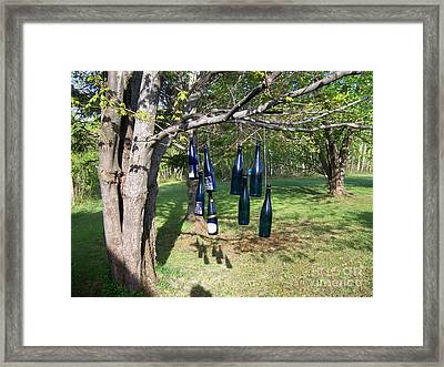 Framed Print featuring the photograph My Bottle Tree - Photograph by Jackie Mueller-Jones