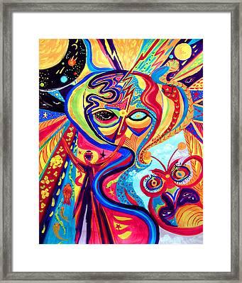 My Brain Framed Print by Marina Petro