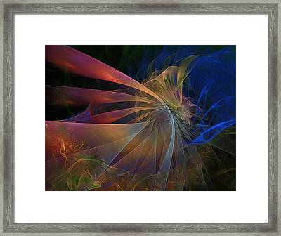Framed Print featuring the digital art My Brothers Voice by NirvanaBlues