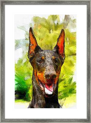 My Buddy Framed Print by Anthony Caruso