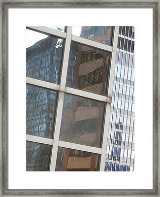 My Building Or Yours Framed Print by Donna McLarty