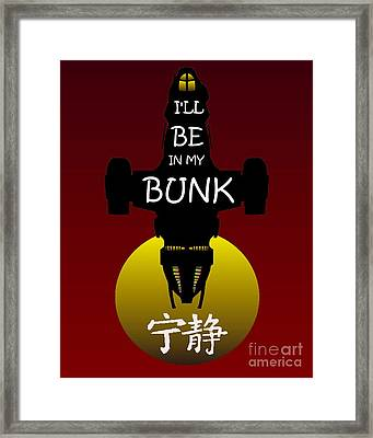 My Bunk Framed Print by Justin Moore