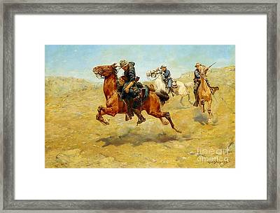 My Bunkie Framed Print by Pg Reproductions