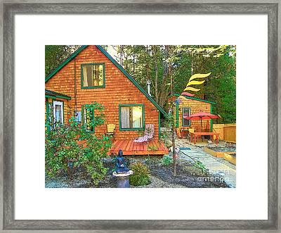 My Cabin Framed Print by Lisa Dunn