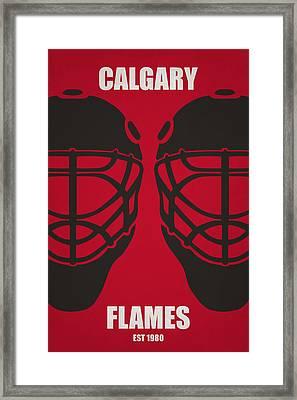 My Calgary Flames Framed Print by Joe Hamilton