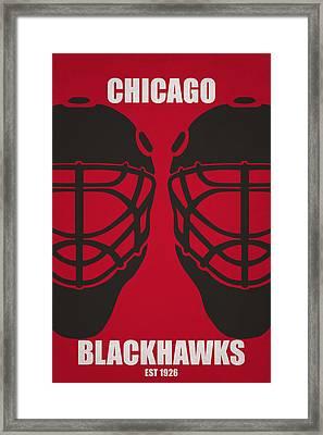 My Chicago Blackhawks Framed Print by Joe Hamilton