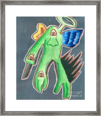 My Choice Of Man Framed Print by Tanmay Singh