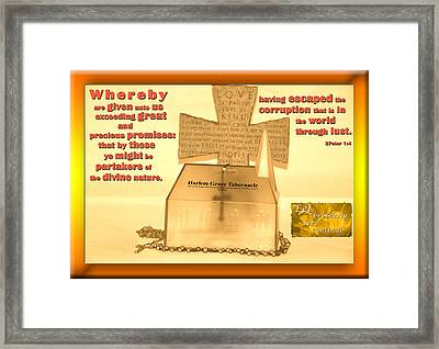 My Church Framed Print by Terry Wallace