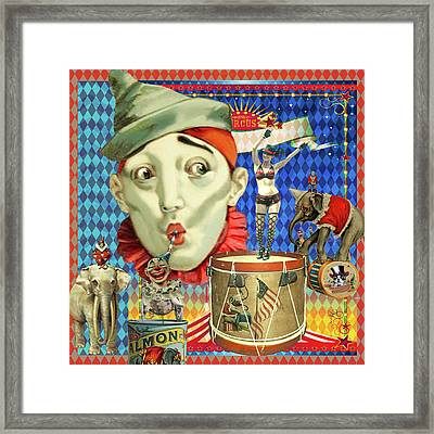 Framed Print featuring the photograph My Circus by Jeff Burgess
