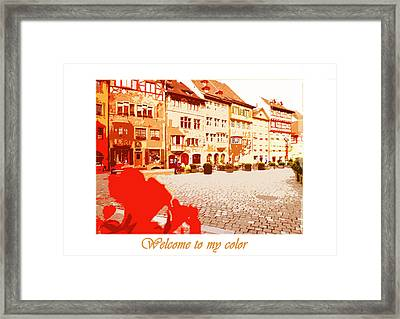 My Color Framed Print by Serg Sarkisyants