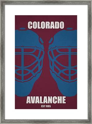 My Colorado Avalanche Framed Print by Joe Hamilton