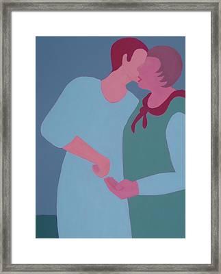 My Confidant Framed Print