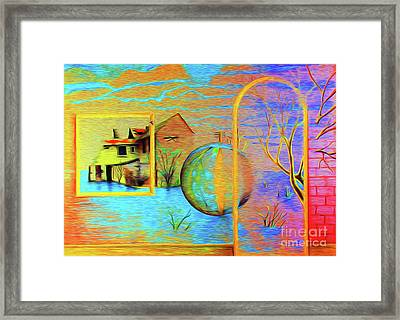 My Contemplation Home Framed Print by Simon Knott