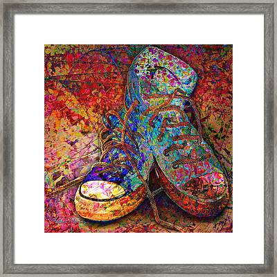 My Cool Sneakers Framed Print