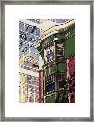 My Corner Of The World Framed Print by Mike Hill