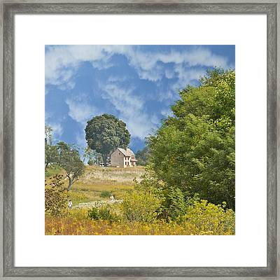 My Country Home Framed Print by Trish Tritz