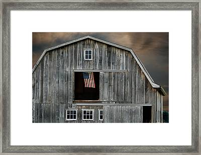 My Country Framed Print by Maria Dryfhout