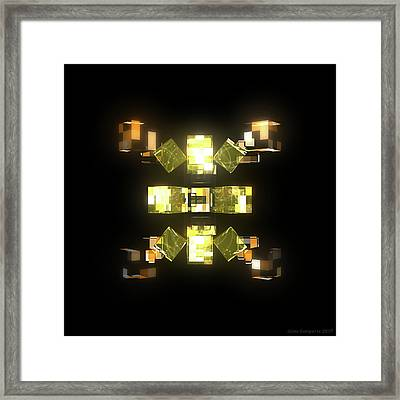 My Cubed Mind - Frame 085 Framed Print
