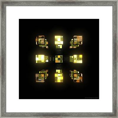 My Cubed Mind - Frame 141 Framed Print