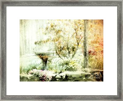 My Cup Overflows 2 Framed Print