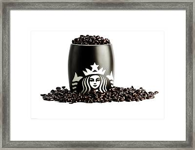 My Cup Runneth Over Framed Print by Keith Allen