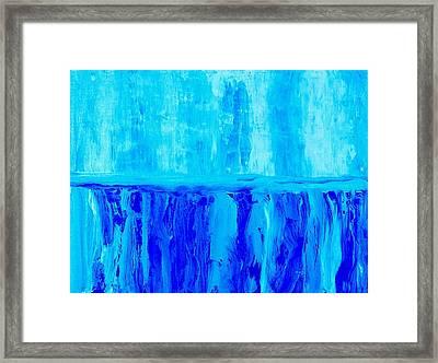 My Cup Runs Over Framed Print by Marsha Heiken