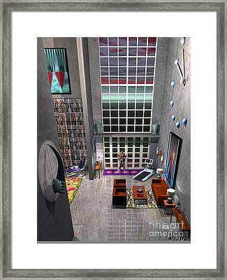 A Lofty Pad Framed Print by Walter Neal