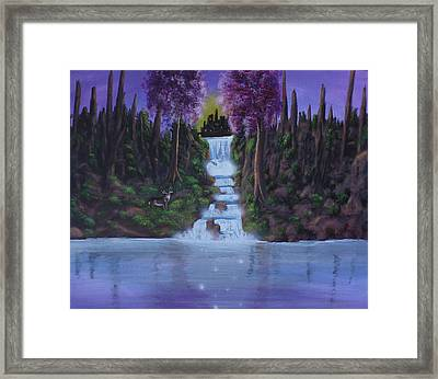 My Deerest Kingdom Framed Print