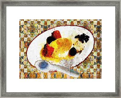My Dinner With Gustav Framed Print