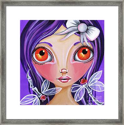 My Dragonfly Friends Framed Print by Jaz Higgins