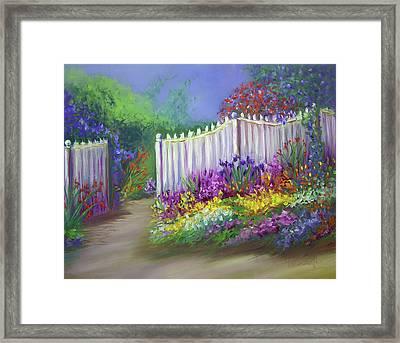 My Dream Garden Framed Print