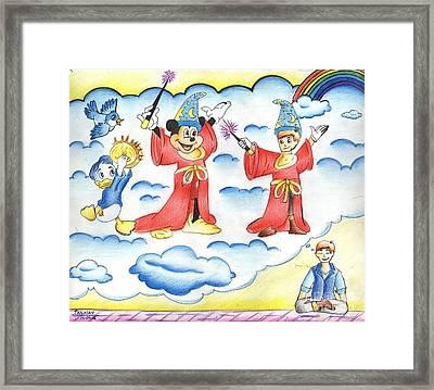 My Dream Framed Print by Tanmay Singh