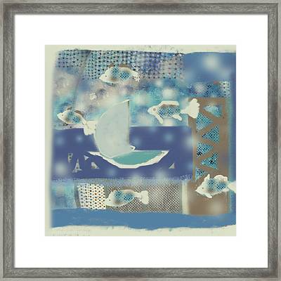 My Dream's Journey Framed Print by Aliza Souleyeva-Alexander