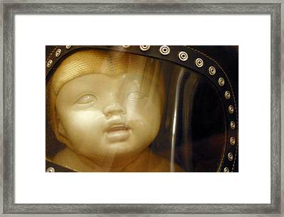 My Early Look On Life   At War Framed Print by Jez C Self
