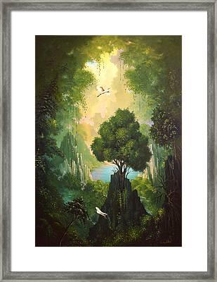 My Eden Framed Print