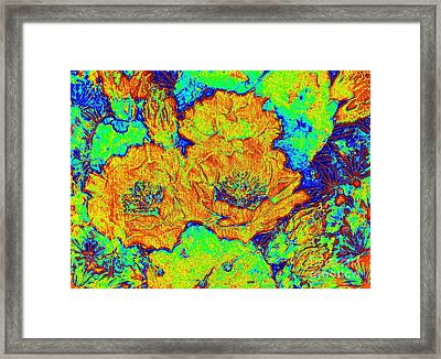 My Electric Delight  Framed Print