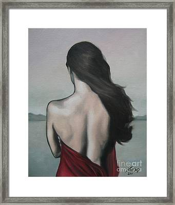 My Endlessness Framed Print by Jindra Noewi