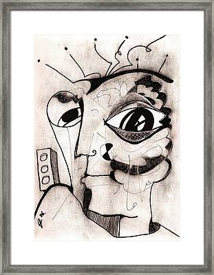 My Eye Is On You Framed Print by Jimmy King