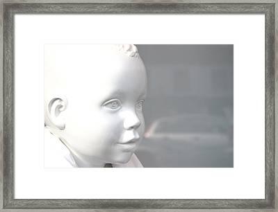 My Face Framed Print by Jez C Self