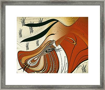 My Fair Cow Framed Print by Ben and Raisa Gertsberg