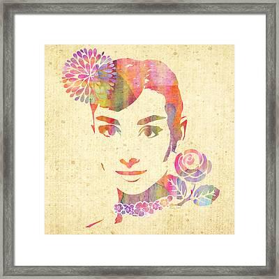 My Fair Lady - Audrey Hepburn Framed Print
